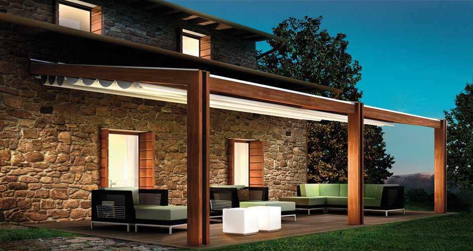 Fachadas de casas modernas com pergolado decorando casas for Fachadas para terrazas de casas