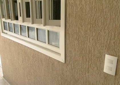 Fotos de fachadas de casas com grafiato decorando casas - Pintado de fachadas ...