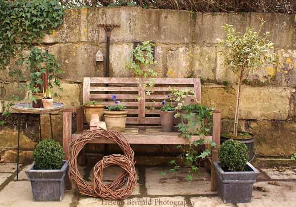jardins ideias criativas : jardins ideias criativas:Decorating Ideas for Outdoor Garden Benches