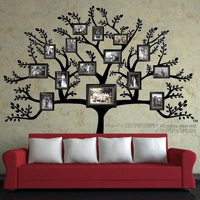 Ideias criativas para decora o de paredes decorando casas for How will my room look painted