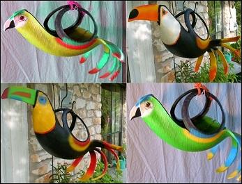 Ideias criativas para decoração reciclável