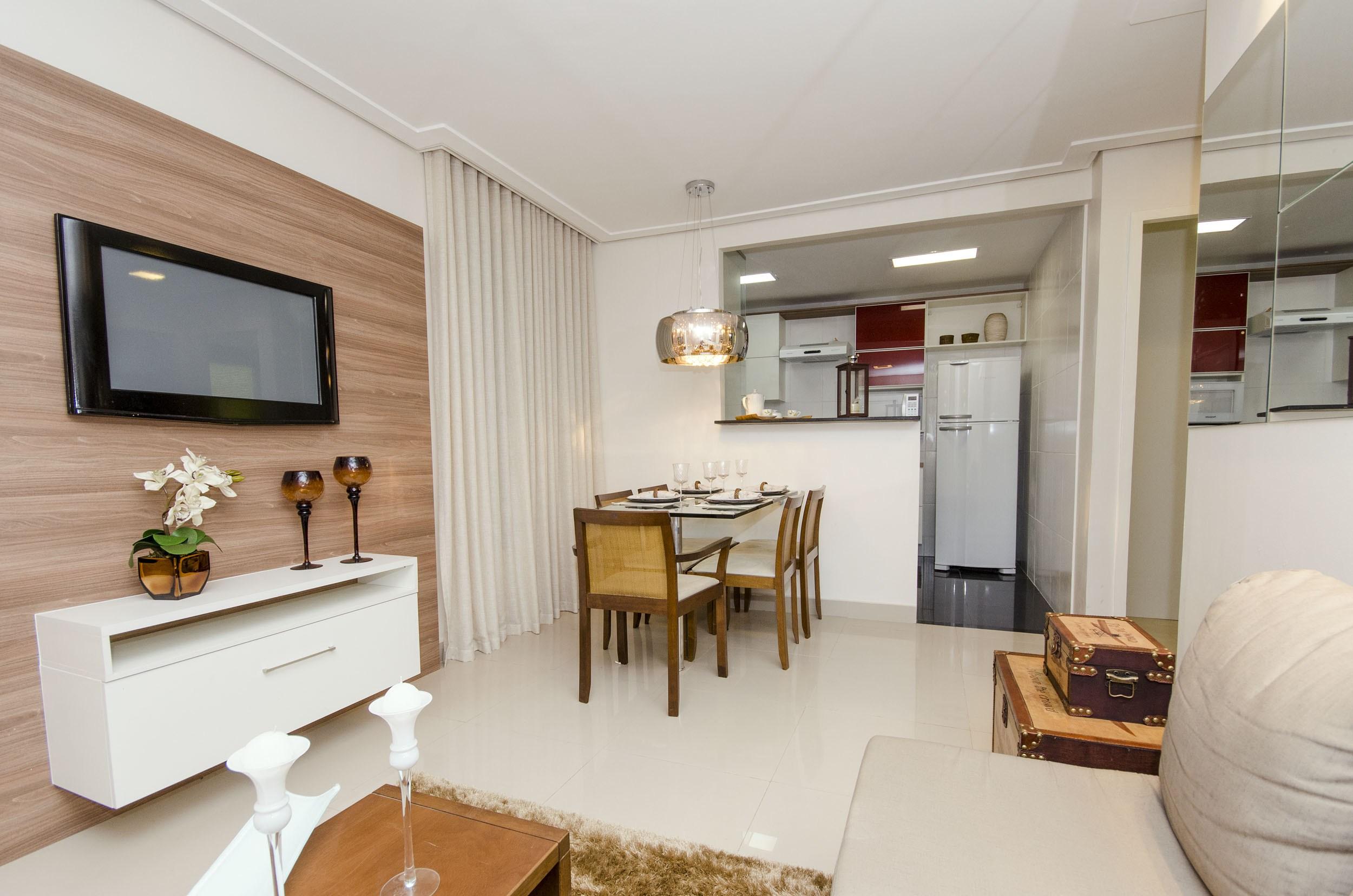 Ideias para organizar apartamento pequeno decorando casas for Acabados para apartamentos pequenos