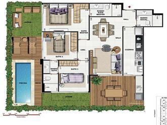 Plantas de casas para construir decorando casas - Casas miniaturas para construir ...