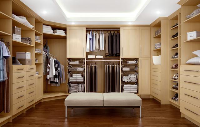 Closets modernos e planejados para quarto decorando casas for Closets abiertos pequenos