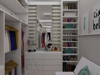 Como organizar closet feminino