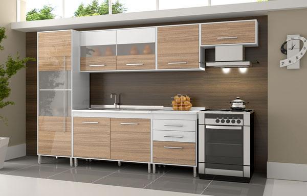 Armário de cozinha barato – Fotos  Decorando Casas # Armario De Cozinha Com Garrafeiro