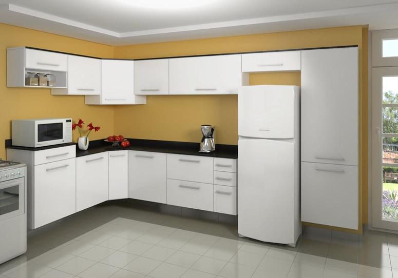 Artesanato Yutube ~ Armário de cozinha barato u2013 Fotos Decorando Casas