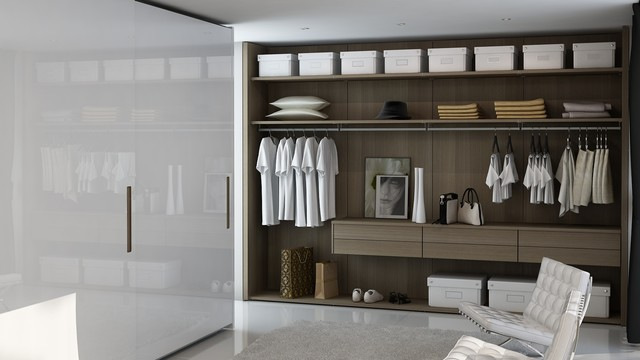 Closets pequenos e modernos decorando casas for Walking closet modernos pequenos