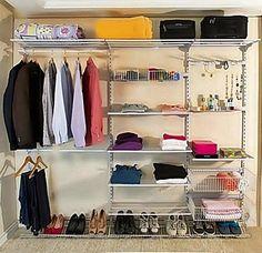Como organizar closet aramado