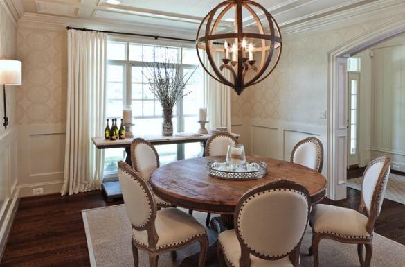 Lustres e luminárias para sala de jantar
