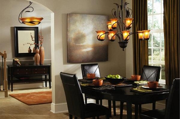 Lustres Para Sala De Jantar Fotos ~ Lustres e luminárias para sala de jantar – Preços e Fotos
