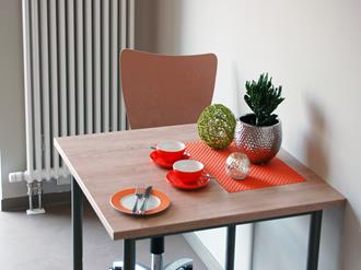 Artigos decorativos para mesa de jantar
