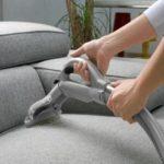 Como lavar o sofá a seco