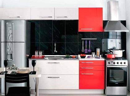 Como montar uma cozinha pequena