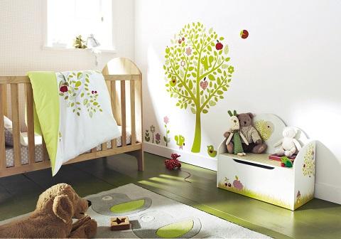Quais as cores ideais para o quarto do bebê