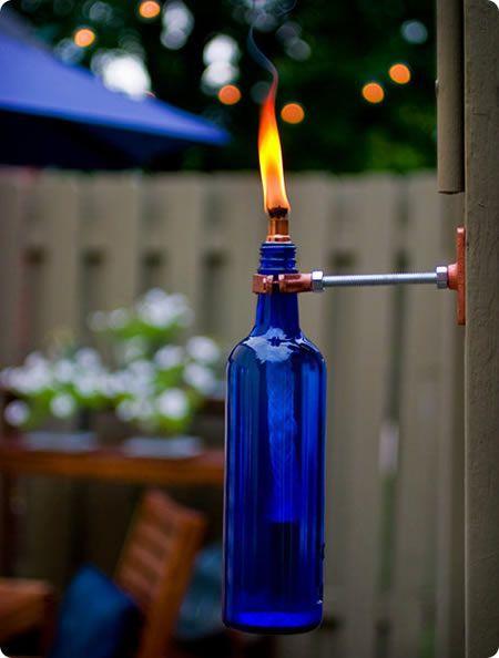 Como reaproveitar garrafas de vidro