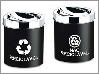 Como separar o material reciclável