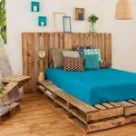 Decoração de quarto com reciclável