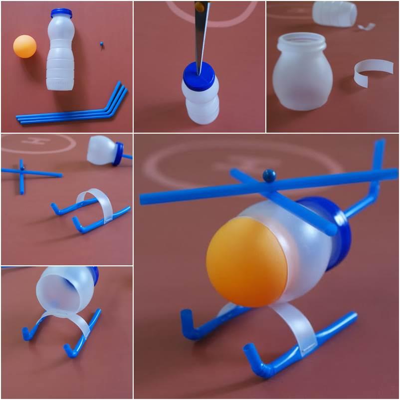 Ideias criativas de reciclagem com garrafas pet