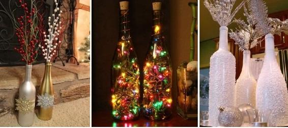 Ideias de reciclagem para decoração de natal