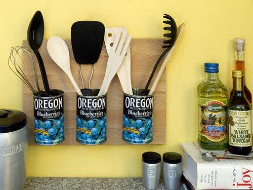 Reciclagem para decoração de cozinha