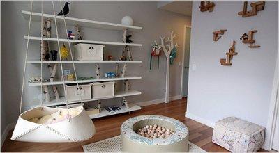 Reciclagem para decoração de quarto de bebê