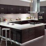 cozinha nova como mobiliar