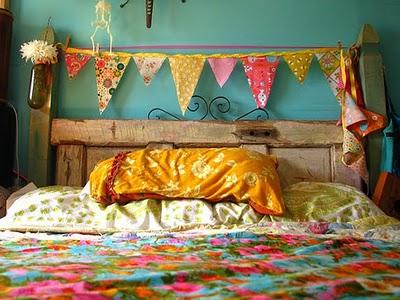 Decoração de quartos no estilo hippie