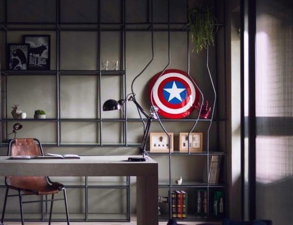 Decoração-de-super-heróis-para-quartos