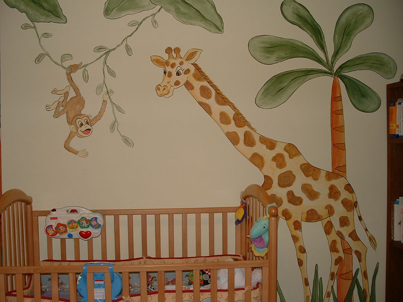 decoracao-do-quarto-de-bebe-masculino-com-tema-safari