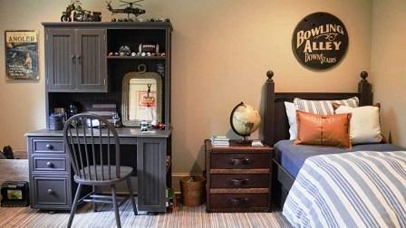 Decoração-do-quarto-masculino-vintage