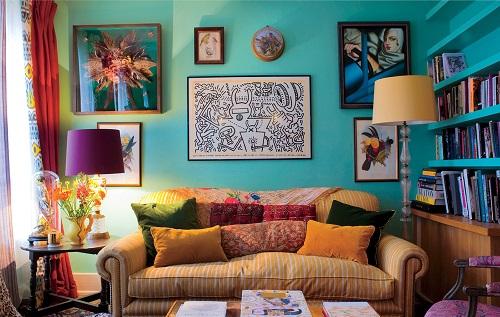 Decoracao Sala Hippie Chic ~ Decoração para sala no estilo hippie  Decorando Casas