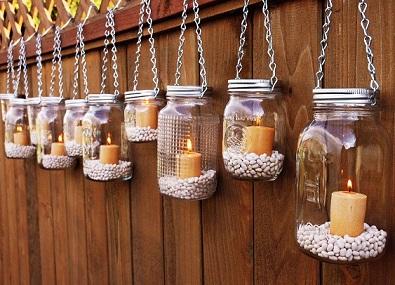 como usar velas na decoracao