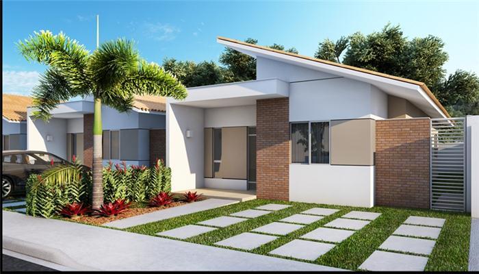 Cores para fachadas residenciais decorando casas for Fachadas duplex minimalistas