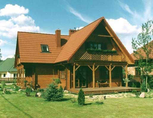 Fachadas de casas coloniais decorando casas - Casas de madera bonitas ...