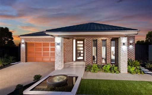 Fachadas de casas com tijolo a vista decorando casas for Casa moderna un piso