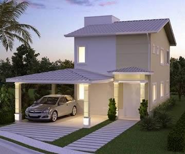 Fachadas de casas pequenas duplex decorando casas for Modelos de casas fachadas fotos
