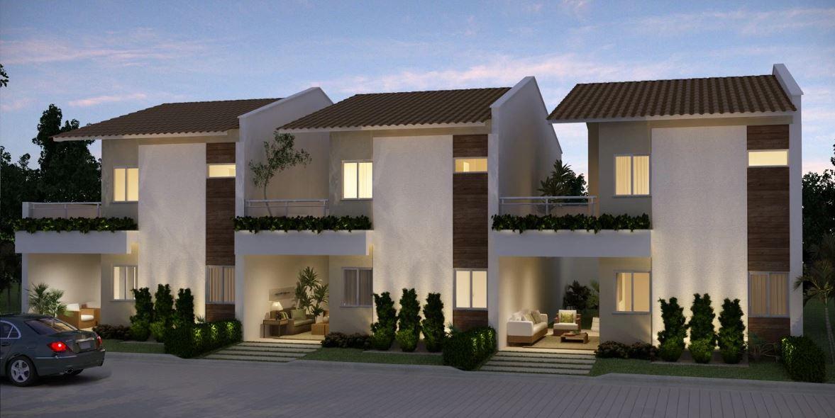 Fachadas de casas pequenas duplex decorando casas for Casas pequenas con fachadas bonitas