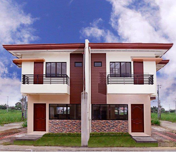Fachadas de casas pequenas duplex decorando casas for Types of duplex houses