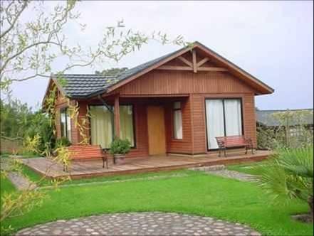 Fachadas de casas rústicas pequenas