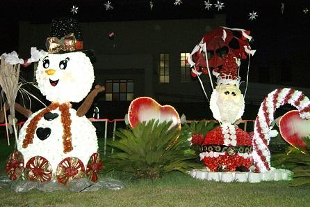 Como decorar o jardim para o natal