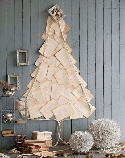 Como montar uma árvore de natal diferente