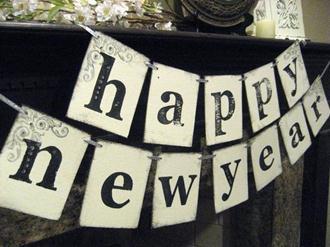 Ideias de decoração para ano novo