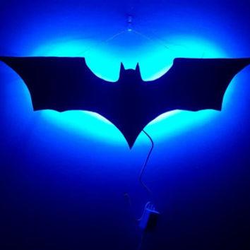 Luminárias das ferramentas dos Super-Heróis