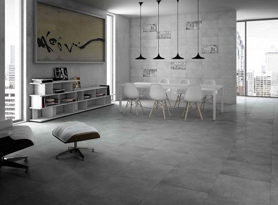 Piso de cimento queimado decorando casas for Pavimento ceramico interior