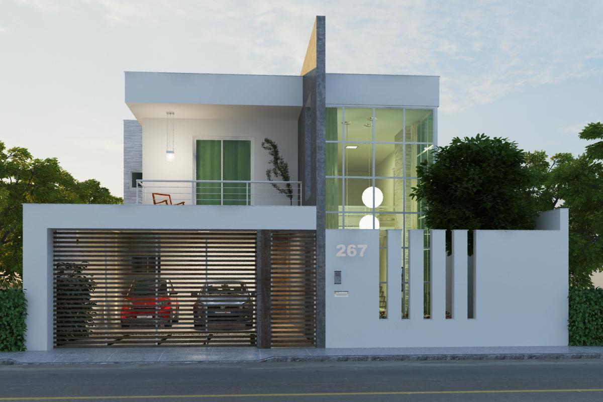 Tipos de muros com grades decorando casas for Decorando casa