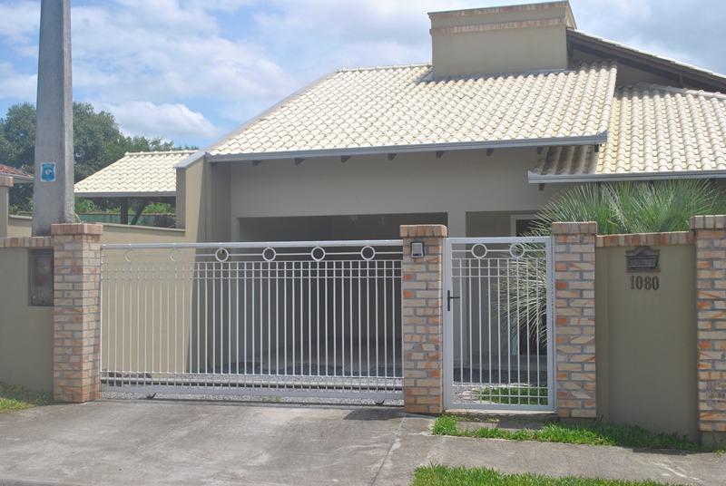 Tipos de muros com grades decorando casas - Tipos de muros ...