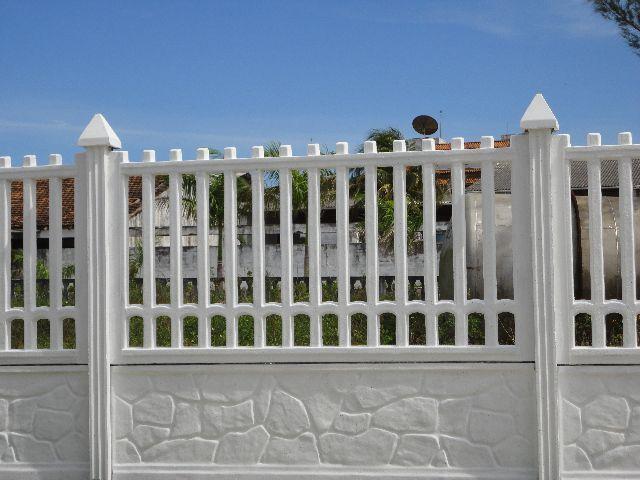 Tipos de muros com grades