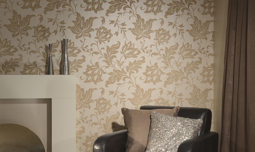 Decoraç u00e3o de paredes com tecido Decorando Casas