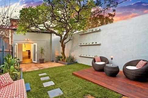 Fotos de jardins residenciais pequenos
